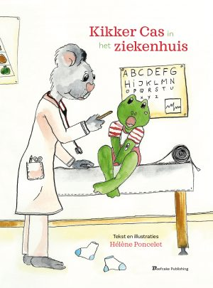 Kikker Cas in het Ziekenhuis e-boek